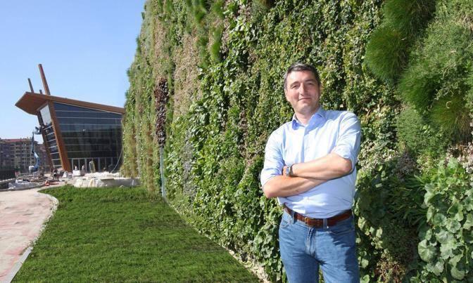 taman vertikal garden  francesco Bolluni