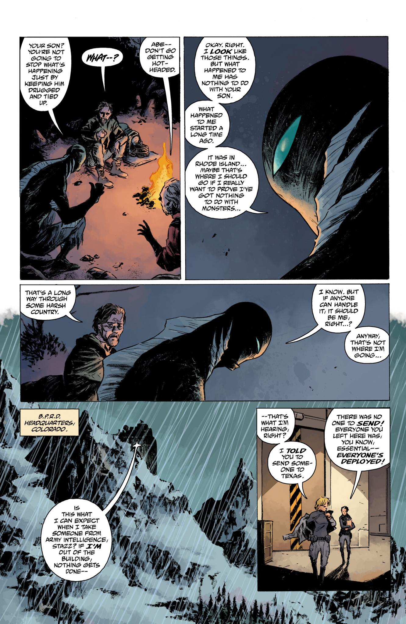 Read online Abe Sapien comic -  Issue #13 - 18
