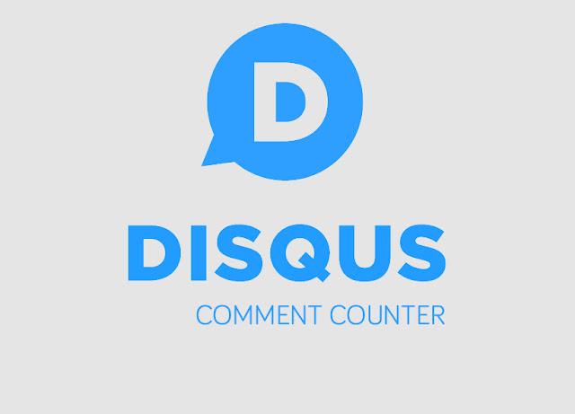 Cara Menampilkan Jumlah Komentar Disqus