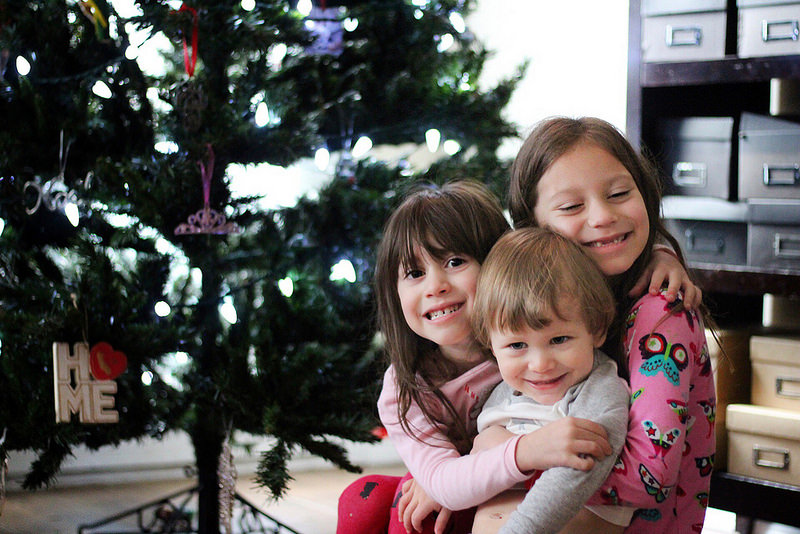 The beginning of Christmas traditions on Work it Mommy blog