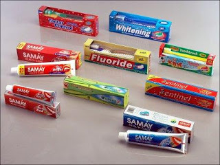 alternative uses of toothpastes