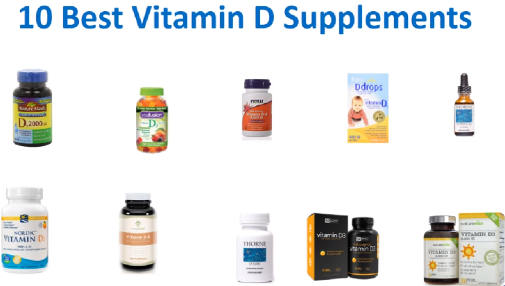 10 best vitamin D supplements