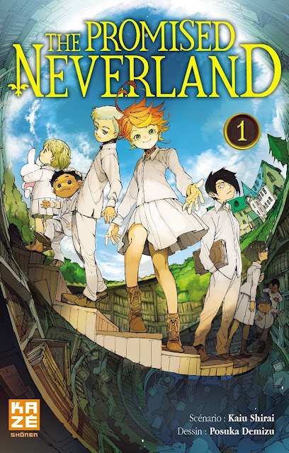 L'Agenda Mensuel - Avril 2018 Livres The Promised Neverland Manga