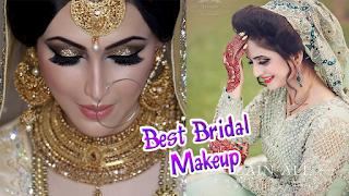Bridal Makeup 2018   Beautiful Latest Jewellery Style   Dresses with New Fashion