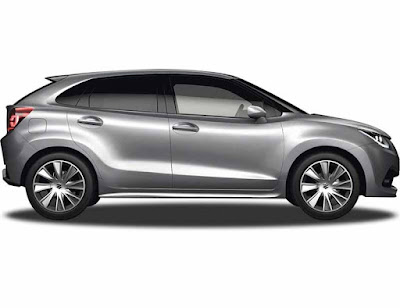 New 2016 Maruti Suzuki Baleno side look