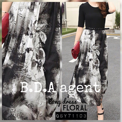 agent Floral Long Dress, agent Floral Long Dress murah, dropship Floral Long Dress, Floral Long Dress black, dress dewasa, dress siti dewasa murah, dress dewasa murah, borong dress dewasa, dress raya murah, dress raya 2015,