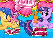 Twilight Sparkle and Flash Gave Birth Twins