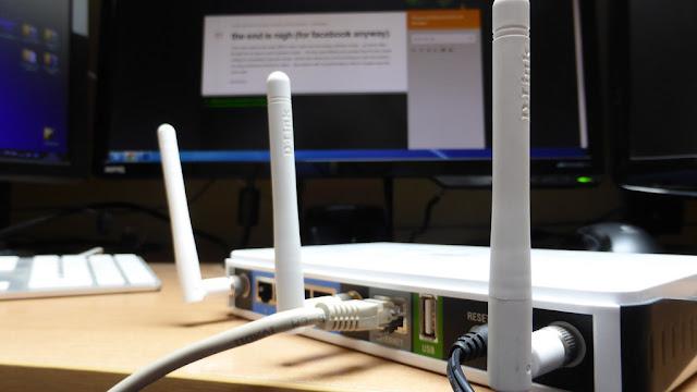 Penggunaan  Router