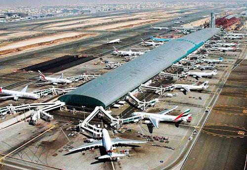 Aeroporto Internacional de Dubai – Emirados Árabes