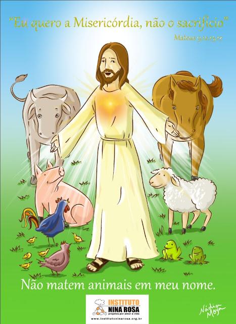 jesus-e-animais