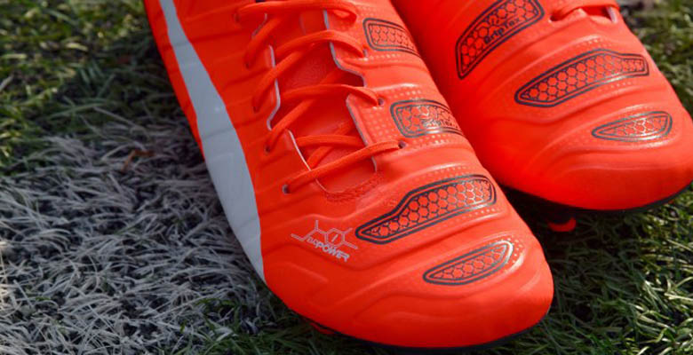 best sneakers 10220 e315f ... closeout the new orange puma evopower 2015 2016 soccer cleats introduce  a striking design for pumas