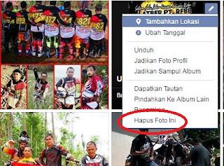 6 Langkah mudah menghapus foto profil facebook