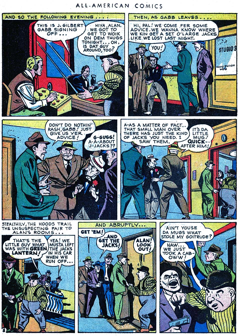 Read online All-American Comics (1939) comic -  Issue #63 - 10