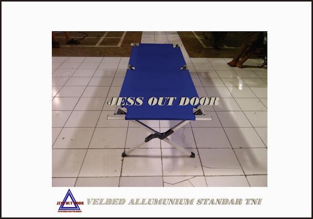 Pabrik Tenda TNI, Tempat, Produksi, Pembuat Velbed allumuniu/ Folding bed tenda