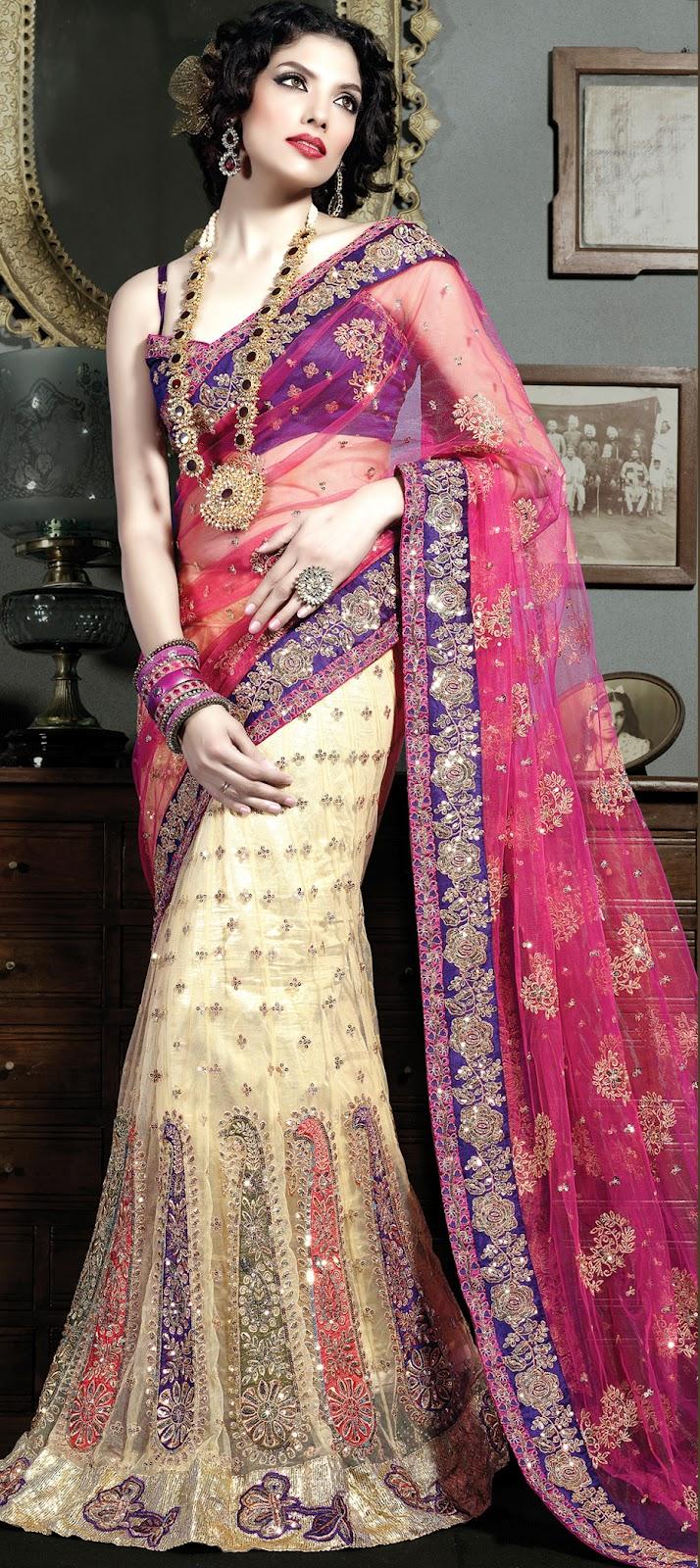 sangeet lehenga planner lehengas multicolor vibrant pink reactions saree