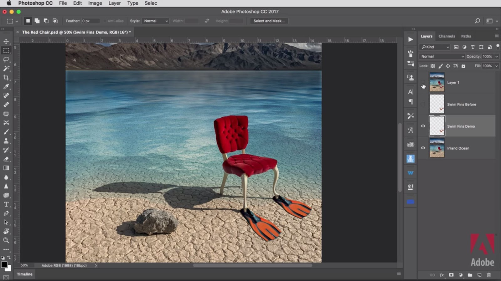 Photoshop Color Matching Technique