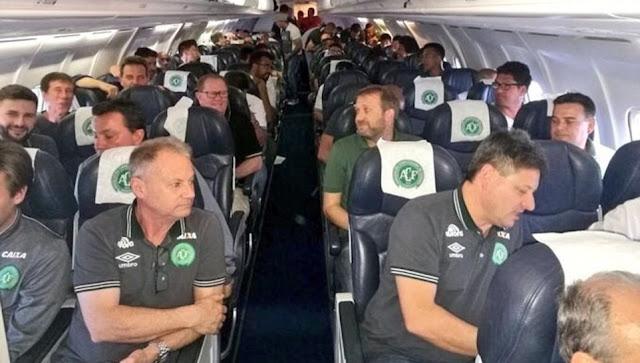 Avião que transportava 80 pessoas, incluindo equipe Chapecoense, caiu perto do aeroporto de Medellín