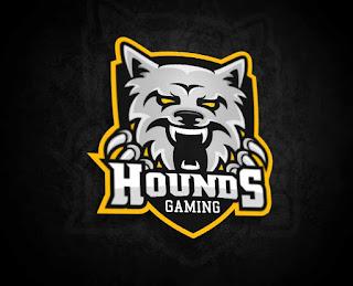 Logo for Hounds-Gaming (MYeSportdesign)
