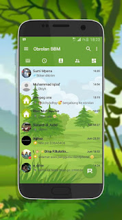 BBM MOD FUTION CHAT APK Unclone