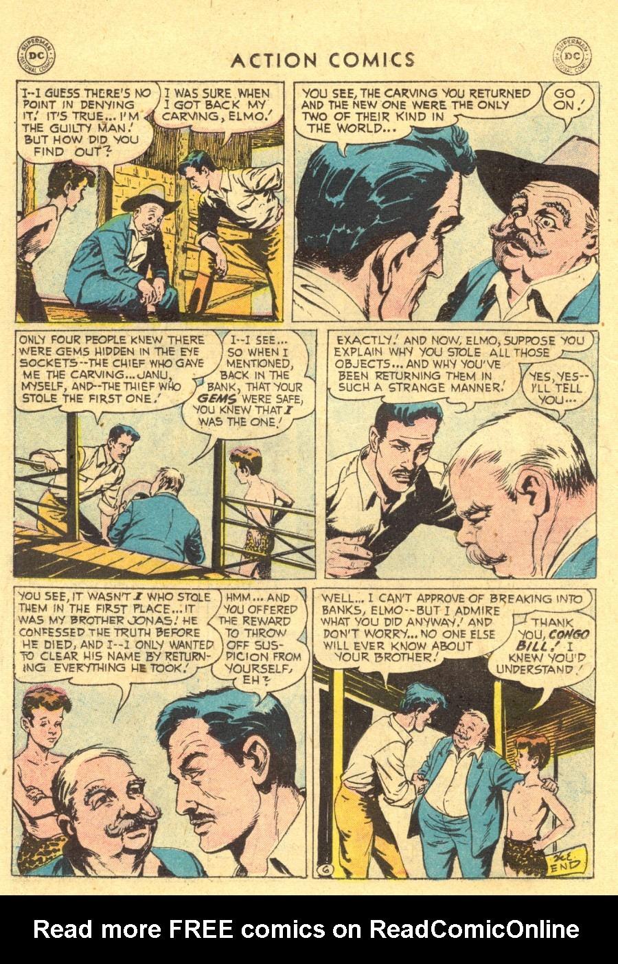 Action Comics (1938) 211 Page 21