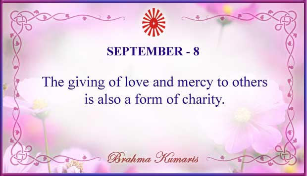 Thought For The Day September 8