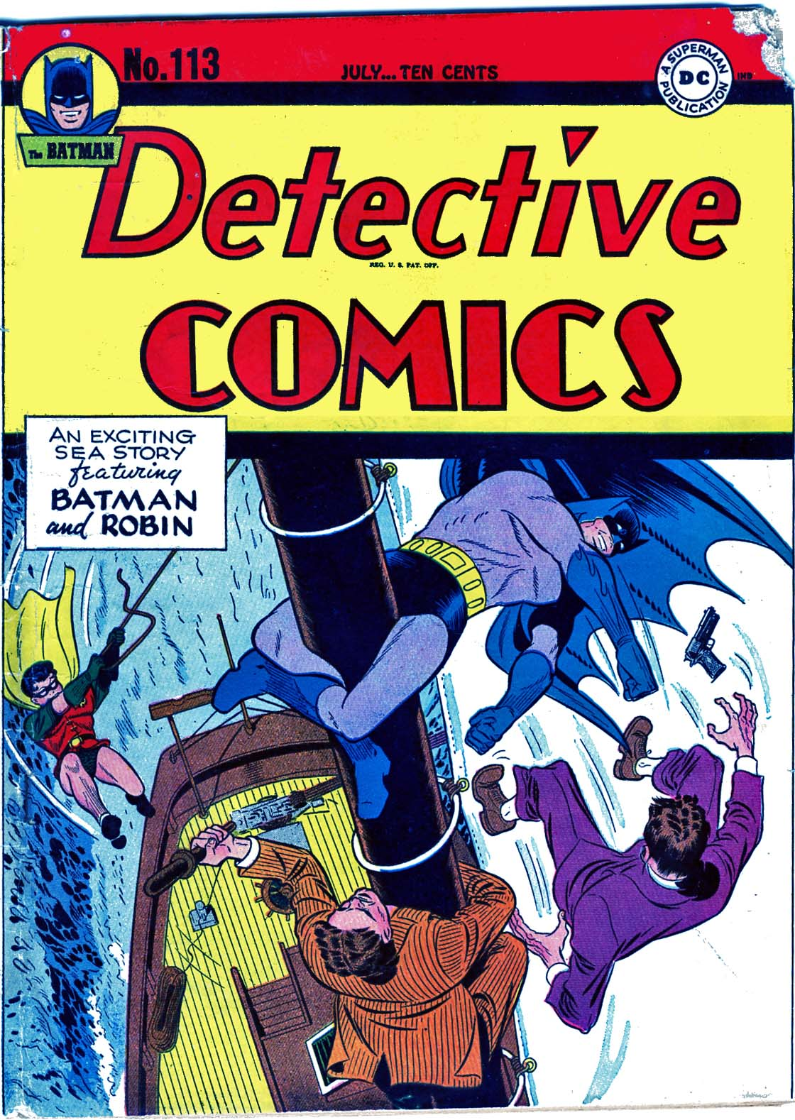 Detective Comics (1937) 113 Page 1