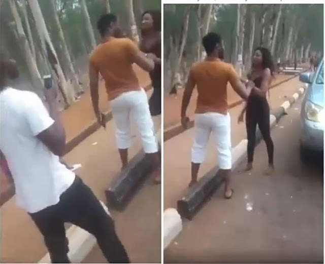 Nigerian Lady Becomes Mentally Unstable After Being Dropped By A Benz In Enugu