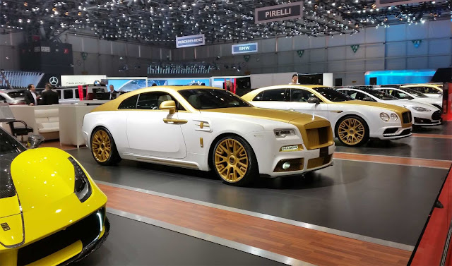 Mansory Cars at the Geneva Motor Show 2016, Ferrari, Rolls Royce
