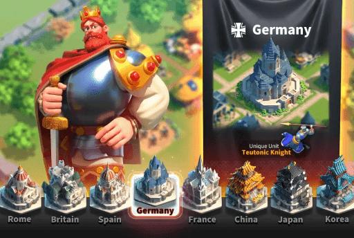 تحميل لعبة Rise of Civilizations مهكرة للاندرويد