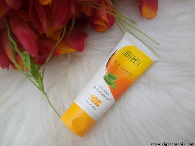 Jovees Sunscreen Fairness Gel SPF-25 Review