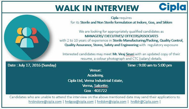 Logo of Walk in interview