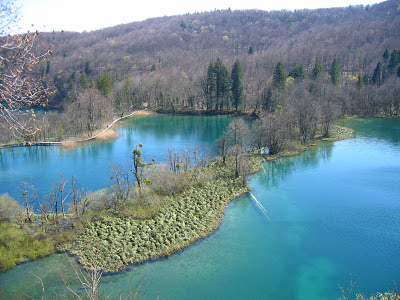 Plitvice National Park, turquoise lakes