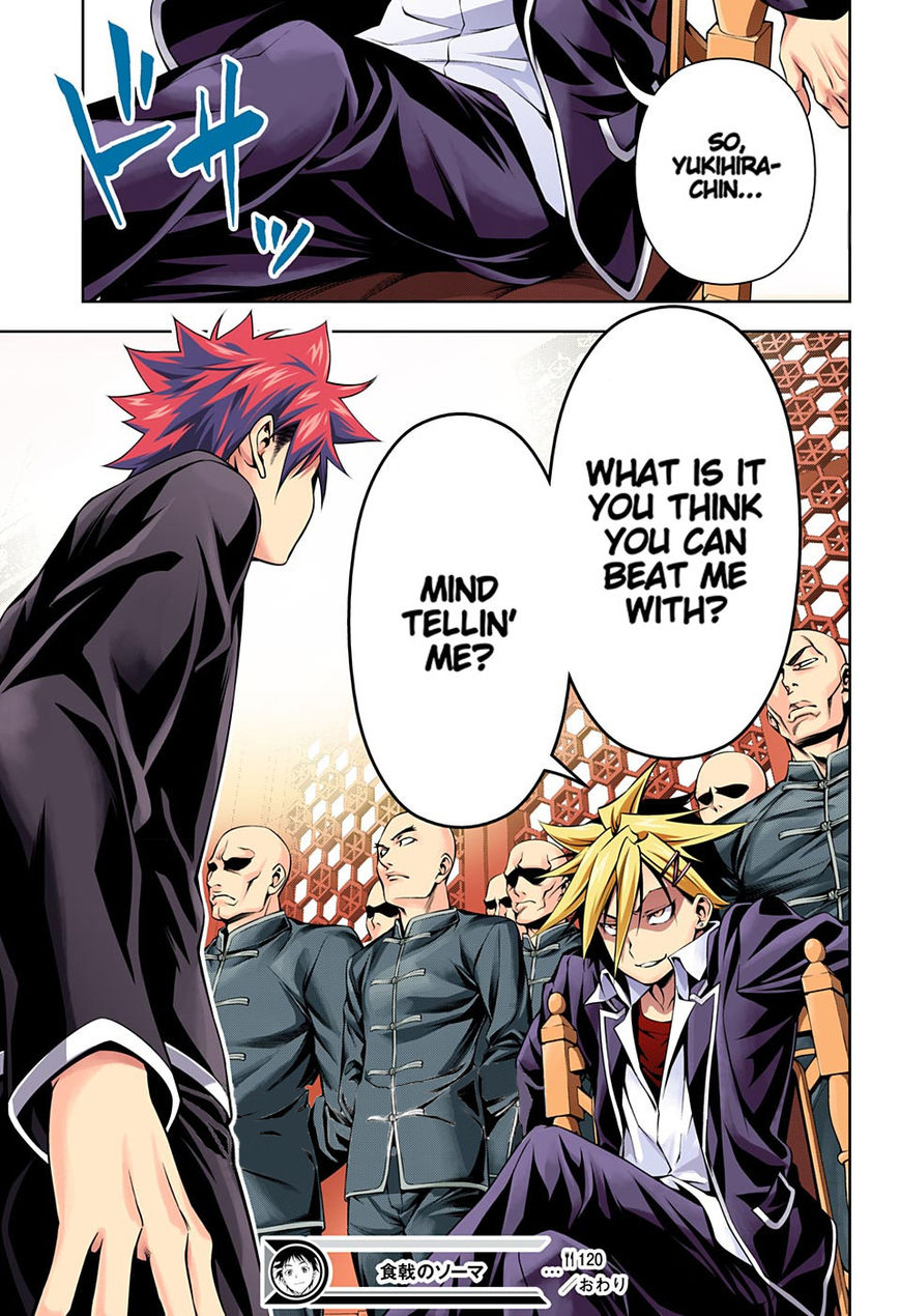 Shokugeki no Soma - Chapter 143