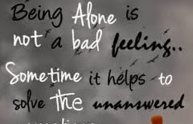 Alone statuses for Him/ Her