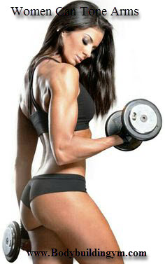 Women Can Tone Arms