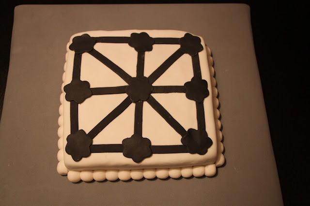 tarta-fondant-tres-en-raya