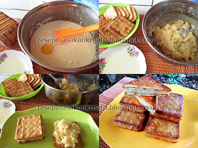 Tahapan Cara Membuat Kue Gabin Vla