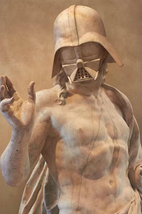 Star Wars Estátuas gregas - Darth Vader
