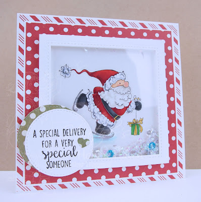 Heather's Hobbie Haven - Santa's Speedy Delivery Card Kit