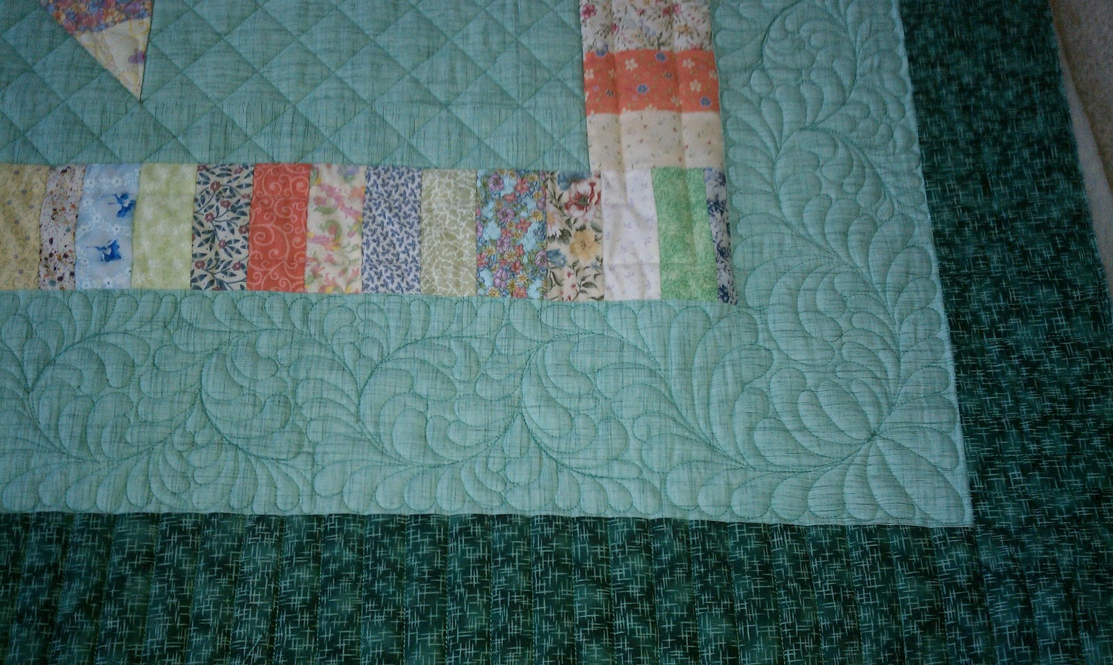 Lone Star Quilt Strip 5