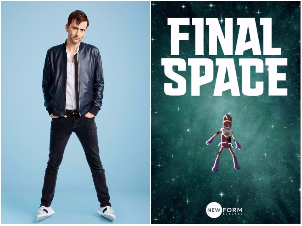 Final Space Premiere Starring David Tennant To Stream
