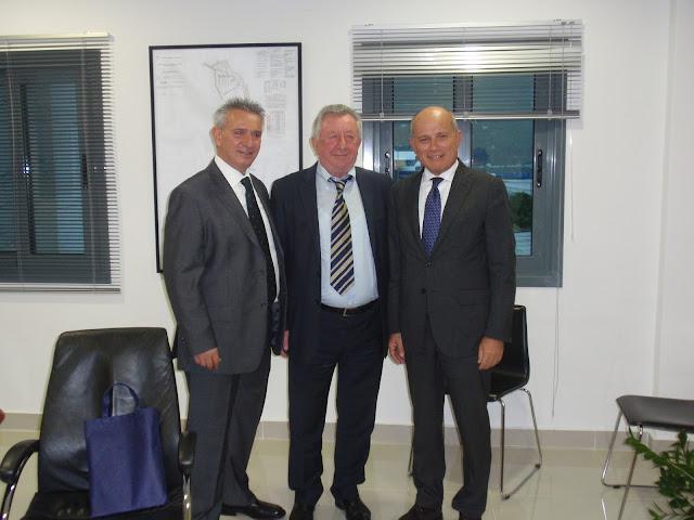 Συνάντηση Προέδρου Ο.Λ.ΗΓ. με τον Πρέσβη της Ιταλίας κ. Efisio Luigi Marras