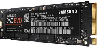 Samsung 960 EVO NVMe M.2 500 GB