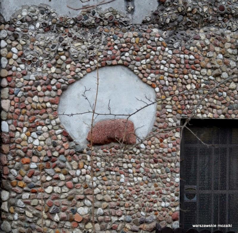 Warszawa dom Rechowiczów mozaika kamienie Sendlerowa