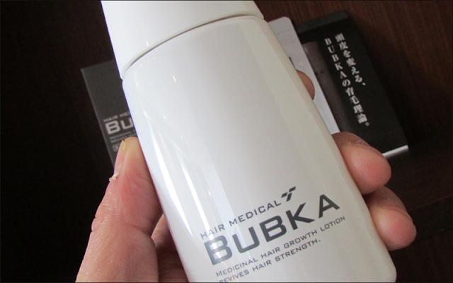 ブブカ(BUBKA)がこだわった2つの育毛効果!
