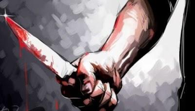 ياربي السلامة ..شخص مقرقب يبتر يد مواطن بسطات