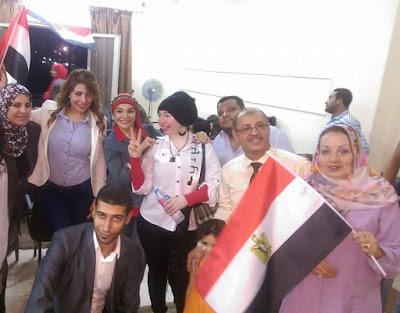 المصريين بجد تحتفل بثورة يونيو بالتعاون مع صالون الوعي الوطني