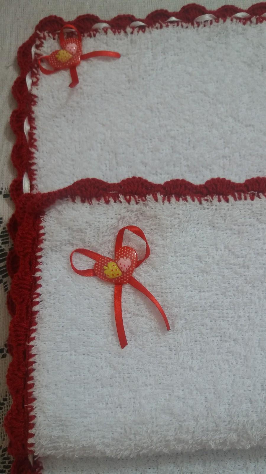 Toallas Decoradas A Crochet - Decoracion-con-toallas