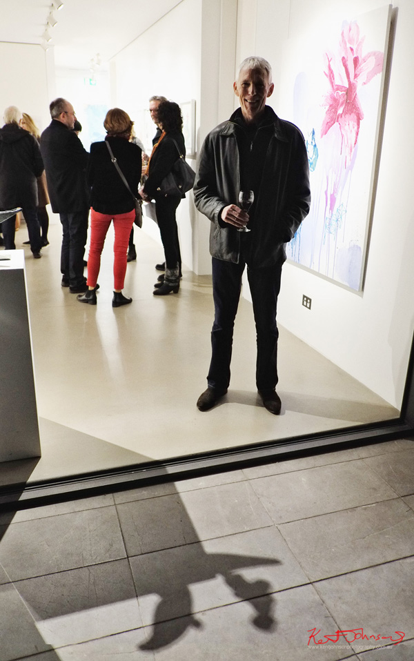 Geoff Levitus A Foreigner's Glimpse at Stanley Street Gallery. Photographed by Kent Johnson.