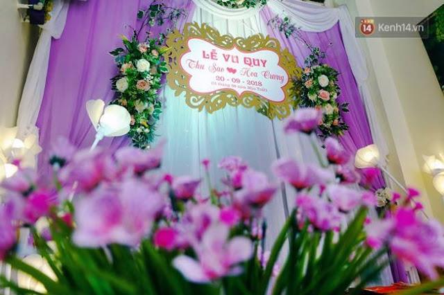 Đám cưới cô dâu 61 tuổi